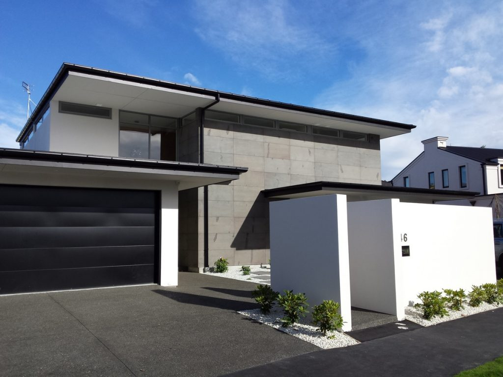 Architectural home in Ilam